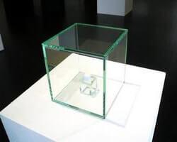 Стеклянный куб 6