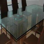 УФ-склейка стола