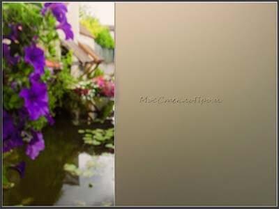 Матовое стекло сатинато бронза