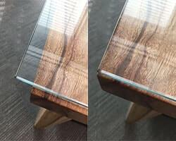 осветленное стекло на стол