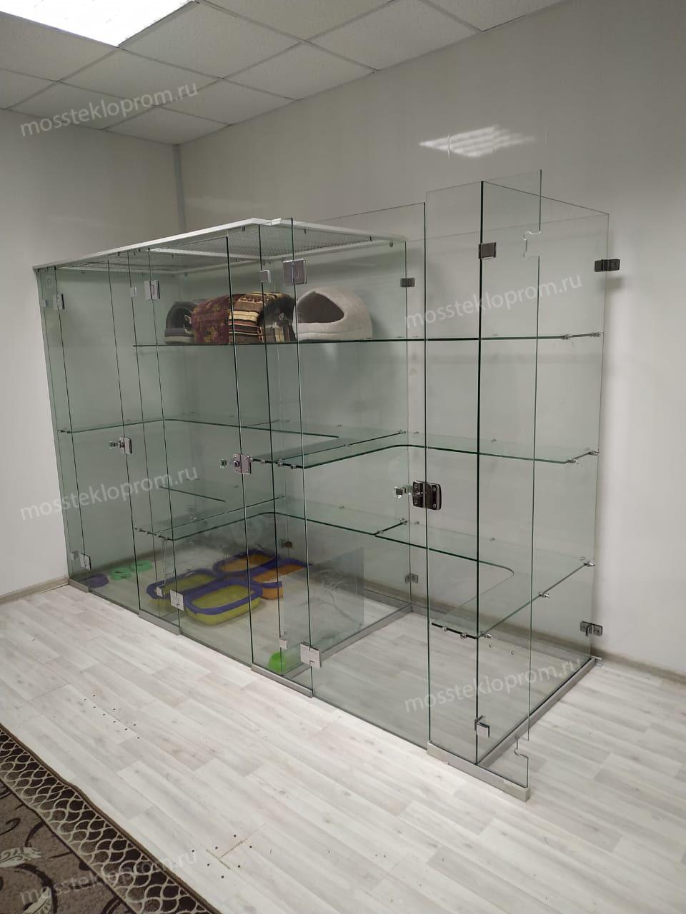 конструкция из стекла 8 мм